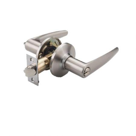 Alavanca com trava de mecanismo - Alavanca da maçaneta da porta com trava do mecanismo