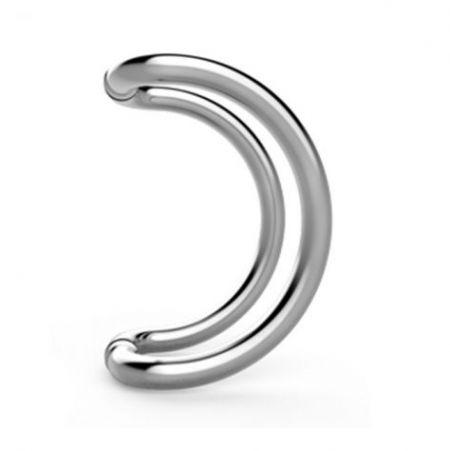 Puxadores de porta de deslocamento circular