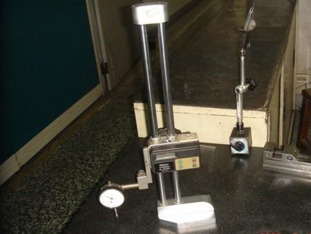 Medidor de altura para dimensões precisas