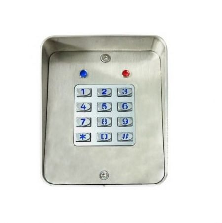 Surface Mounted Keypad with Shield - Access controller