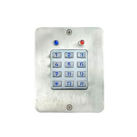 Teclado embutido - Controlador de acesso