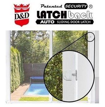 LATCHback Trava de porta deslizante automática - LATCHback Trava de porta deslizante automática