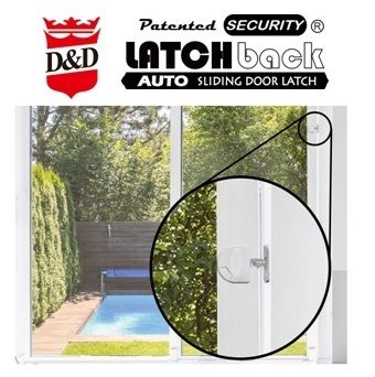 LATCHback Auto sliding door latch