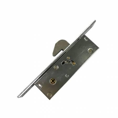Trava de gancho para stiles estreitos - Fechadura de gancho de ponto único para porta deslizante