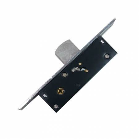 Deadbolt lock for narrow stiles - Single point deadbolt for swing door