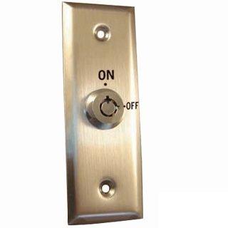 Interruptor de chave com placa frontal narraw - Interruptor de saída com painel estreito
