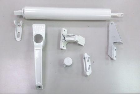 Storm door closer handle kit