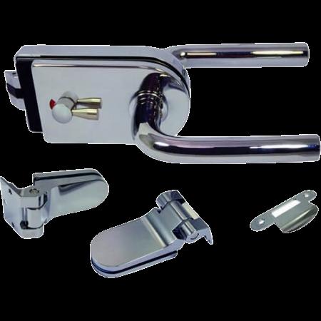 Glass Patch Lock - Trava de remendo de vidro