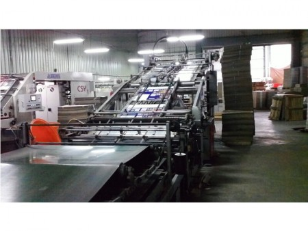 Packing box printing machine