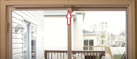 Pré-instalação de SLIDEback porta deslizante mais perto