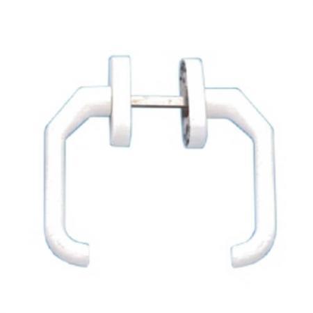 Maçanetas de porta de alumínio - Par de maçaneta de porta