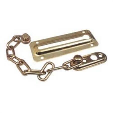 Guarda de porta de corrente de aço Brass.Steel