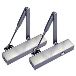 Standard Hydraulic Door Closer without cover - Standard Hydraulic Door Closer with aluminum anodized body