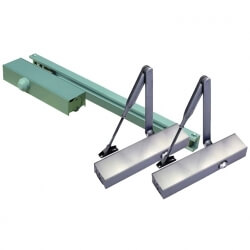 Hydraulic Door Closer with economic closer body - Compact door closer with scissor arm