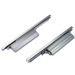 Fechamento de porta oculto de ação de came com canal deslizante - Fechamento de porta oculto de ação de came com canal deslizante