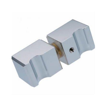 Shower Door Knobs - Square Grip style Shower Door Knobs