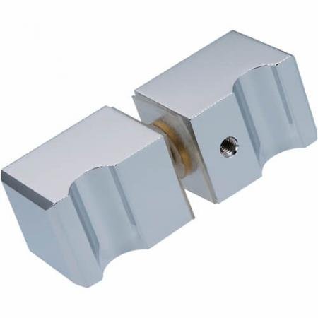 Shower Door Knobs - Square Grip style Shower Door Knobs