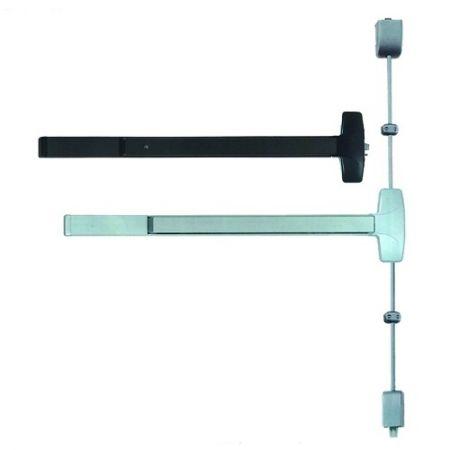 Dispositivo de saída de emergência e pânico de grau 1, serviço pesado - Dispositivo de saída tipo aro e tipo vertical
