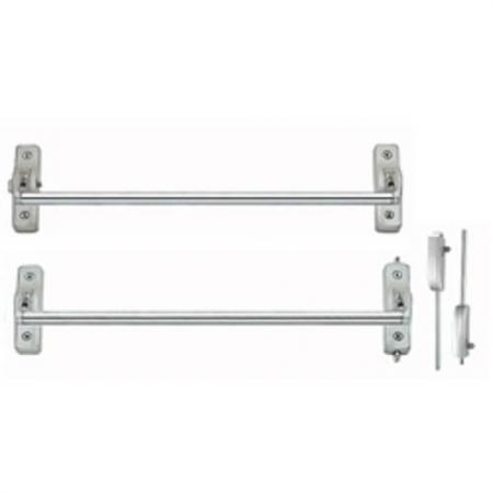 Dispositivos de saída de barra transversal com haste vertical montada em superfície - Dispositivos de saída de barra transversal com haste vertical montada em superfície