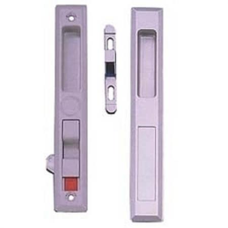Maçaneta da porta deslizante nivelada - Conjunto de maçaneta deslizante embutida