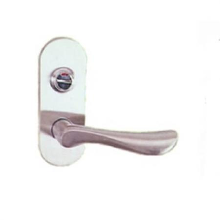 Lever Handles - Leverset Door Handles with switch indicator.