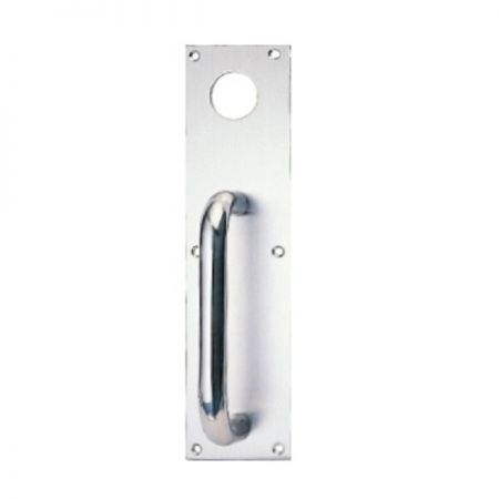 Plate out trim for ED-800, ED-801, ED-850, ED-851, ED-920 sereies exit device - Stainless steel plate out trim