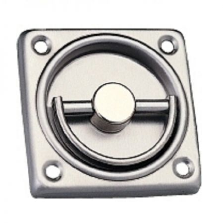 Square Pull trim for ED-800, ED-801, ED-850, ED-851 sereies exit device - Stainless steel pull out trim