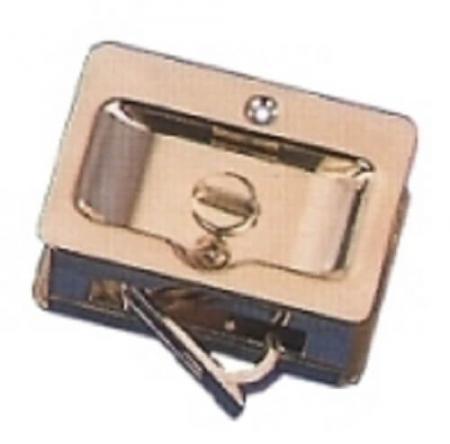Fechaduras de bolso - Fechadura de bolso, estilo de passagem puxada