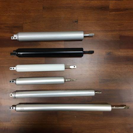 Chiudiporta schermo - Chiudiporta tubolari, Chiudiporta cilindrici tradizionali, Chiudiporta pneumatico