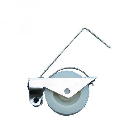 Rolo de porta de tela, rolo de janela - Rolo de porta de tela, rolo de janela, rodas de polia de faixa.