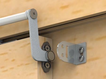 Manter aberto para porta de madeira