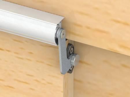 Fix 6 Series SLIDEback porta deslizante mais fechada na moldura da porta de madeira