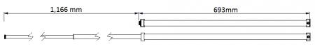 Tamanho do corpo de 6 séries SLIDEback porta deslizante mais perto