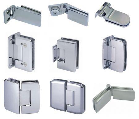 Glass Hinge - Glass hinge, shower hinge