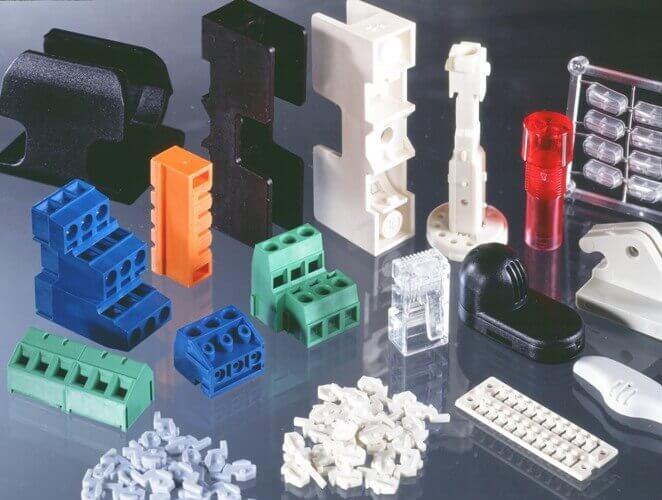 Injeção plástica - Conponentes de plástico