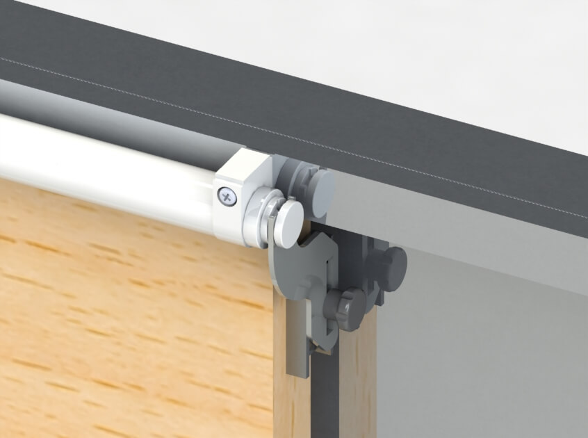 Charmant SLIDE Back Sliding Door Closer With MBA Bracket
