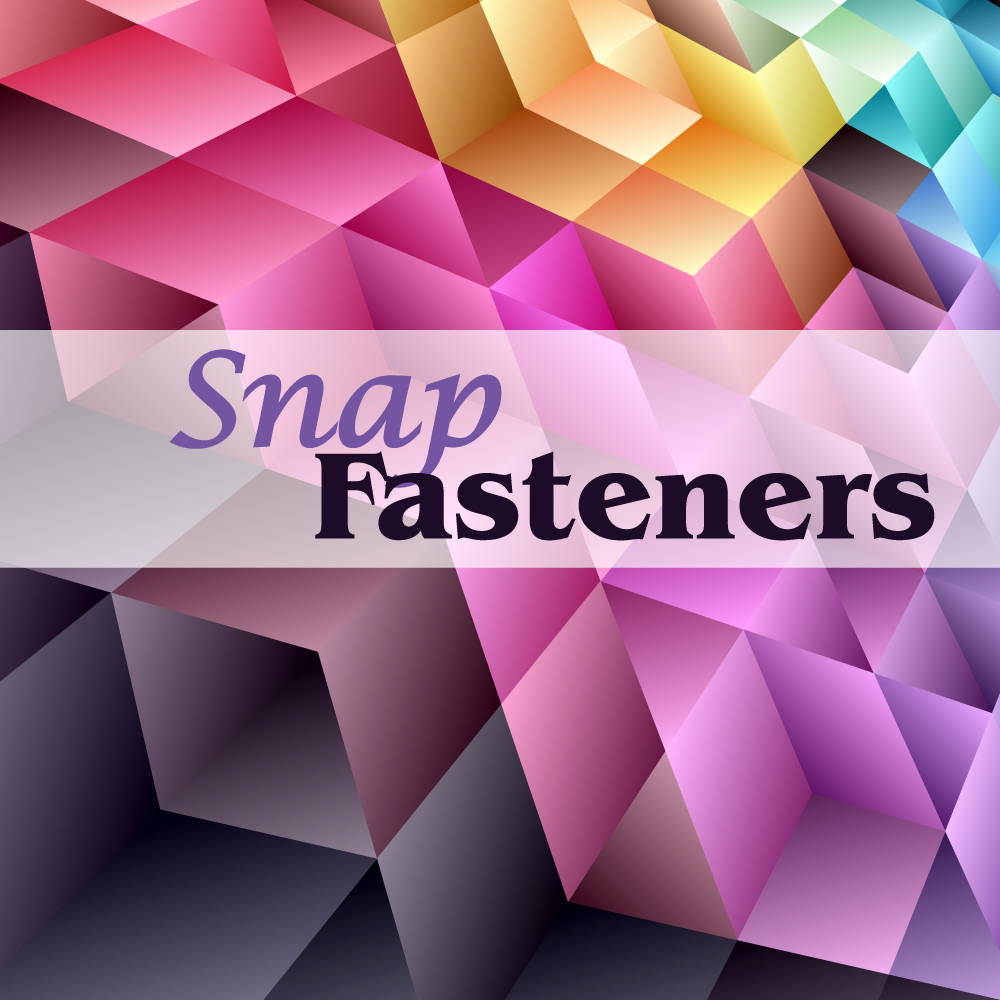 Snap Fasteners For Clothing, Footwear, Jewelry, Leather goods