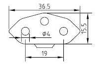 Switzerland ‐ Italy Power Cord - AC-CM313