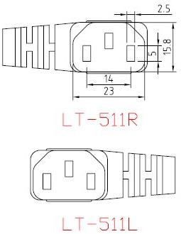 Switzerland ‐ Italy Power Cord - AC-CM511RL