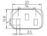 Cable de alimentación - AC-CM501