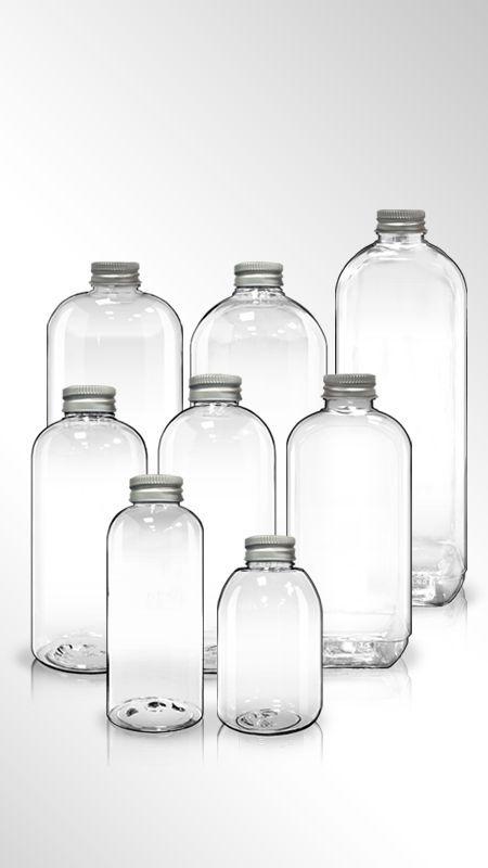 PET 32mm Round Series Bottles
