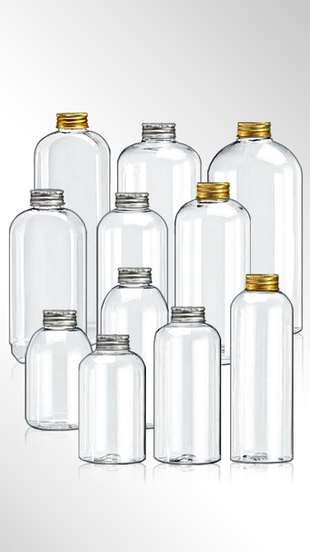 PET 32-mm-Flaschen der runden Serie