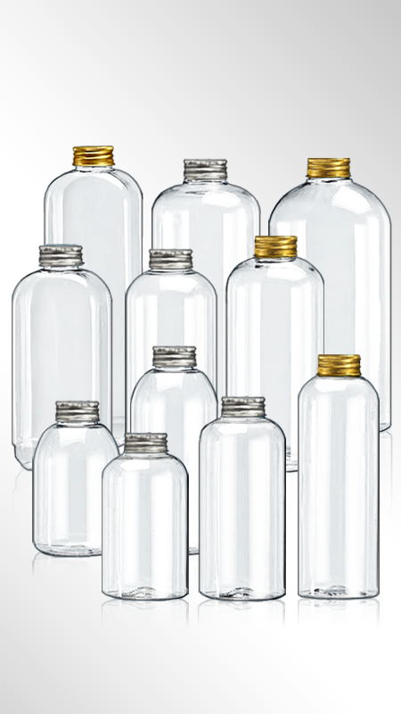 PET 32mm Round Series Bottles