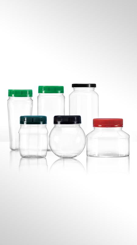 PET 63mm series Wide Mouth Jar