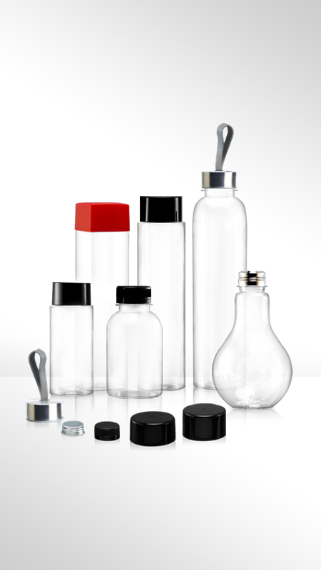 PET-Flaschen der 38-mm-Serie