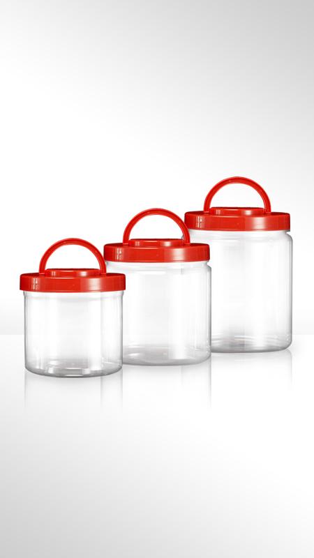 PET 180mm series Wide Mouth Jar