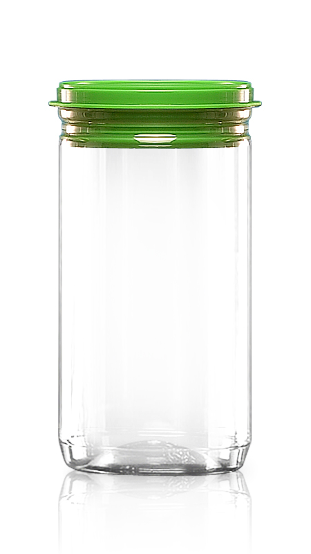 740 ml EOE PET Jar with Plastic Lid & Certification FSSC, HACCP, ISO22000, IMS, BV