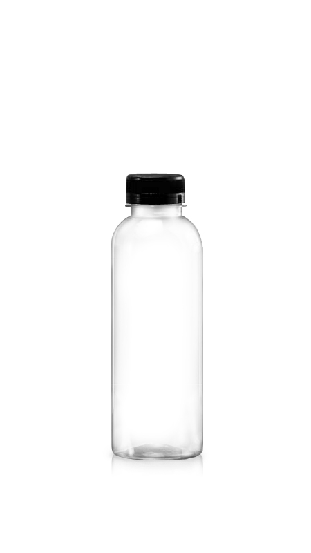 510 ml PET Boston Style bottle for cool beverages packaging with Certification FSSC, HACCP, ISO22000, IMS, BV