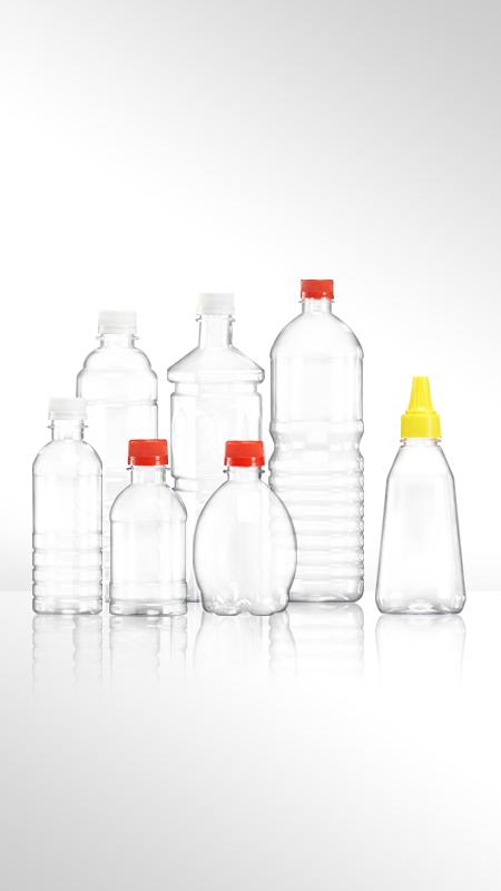 PET-Flaschen der 28-mm-Serie