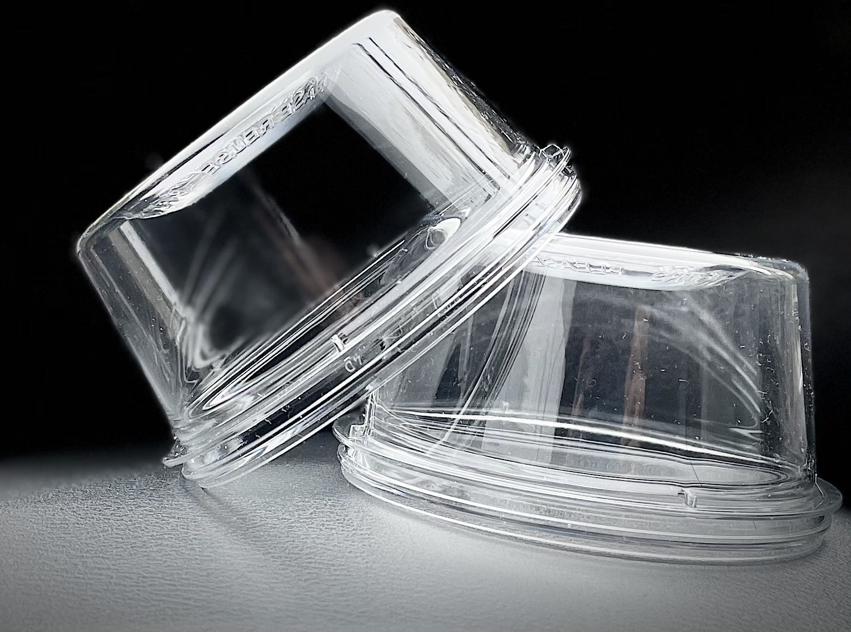 Cupa de iaurt transparent
